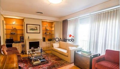 Cobertura Com 3 Dormitórios Para Alugar, 186 M² Por R$ 4.800/mês - Moinhos De Vento - Porto Alegre/rs - Co0197