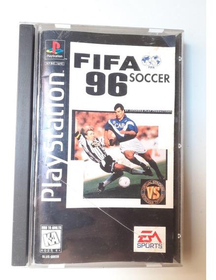 Fifa 96 Playstantion Long Box Usa Frete Gratis 12x Sem Juros
