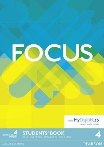 Imagen 1 de 1 de Focus 4 - Student´s Book With My English Lab - Pearson