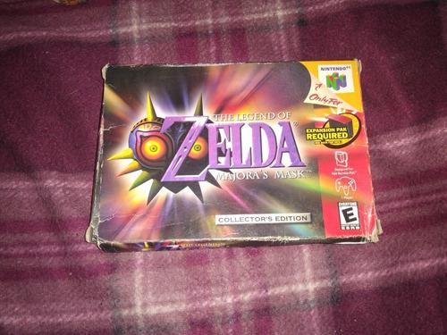 Imagen 1 de 9 de Zelda Majoras Mask Nintendo 64