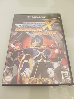 Megaman X Command Mission Nintendo Gamecube Completa Card