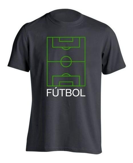 Fútbol Frases Cancha Remera H