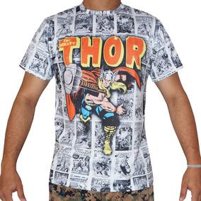 Camiseta Camisa Blusa Poderoso Thor Quadrinho Marvel Comic