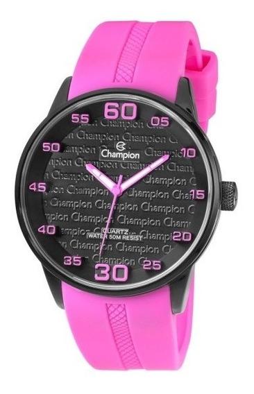Relógio Champion Trendy Pink Ch30206k Garantia Embalagem