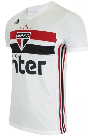 Camiseta Blusa São Paulo Oficial Tricolor Listrada Oferta