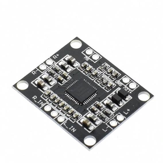 Placa De Áudio 15x15watts Amplificador