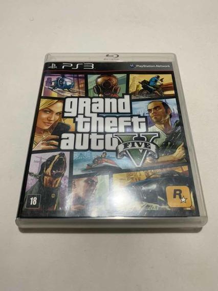 Gta V Ps3 Grand Theft Auto 5 Playstation 3 Jogo Original