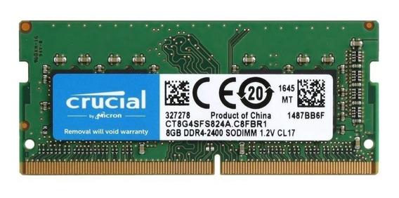 Memoria RAM 8 GB 1x8GB Crucial CT8G4SFS824A