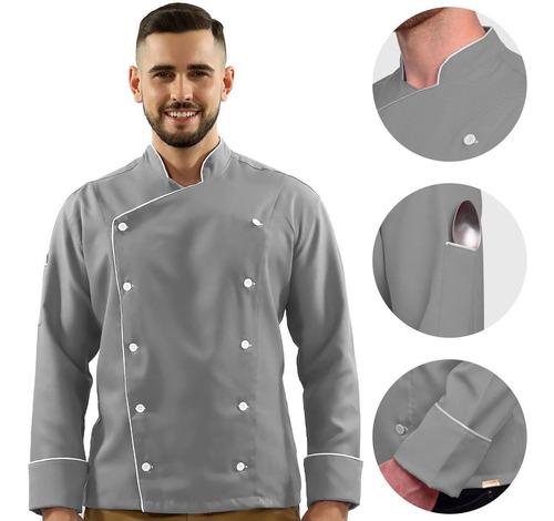 Uniforme Chef De Cozinha, Alta Qualidade X Melhor Preço$