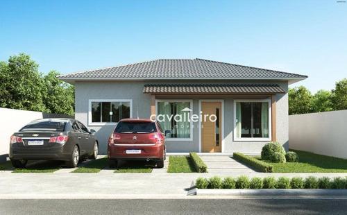 Casa Com 3 Dormitórios À Venda, 100 M²  - Caxito - Maricá/rj - Ca4742