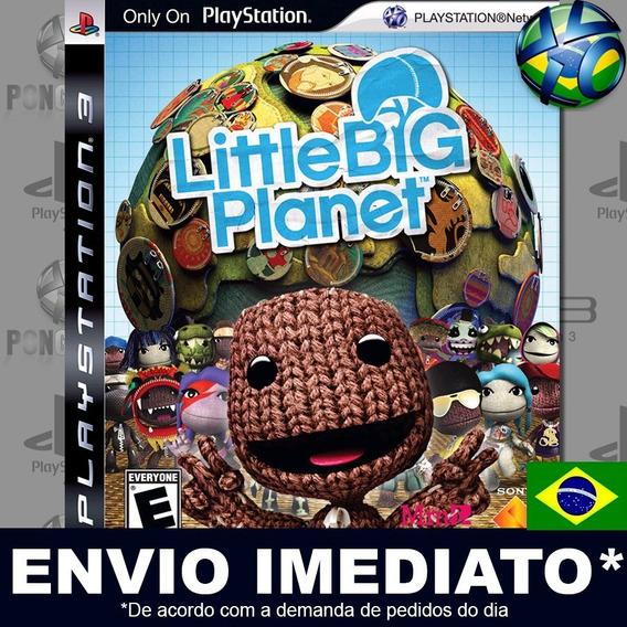 Littlebigplanet 1 Ps3 Psn Legendas Português Jogo Promoção