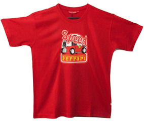 Camiseta De Niño Ferrari, Speed