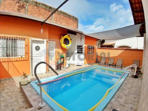 Imagem 1 de 14 de Linda Casa No Massaguaçu - Ca0496