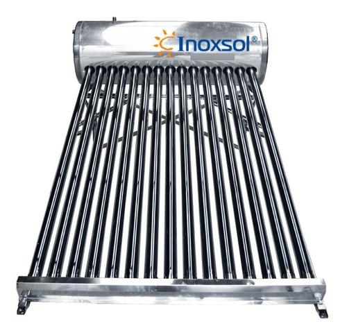 Imagen 1 de 5 de Calentador Solar Inoxsol / 15 Tubos - 180 Lts / 4 Personas
