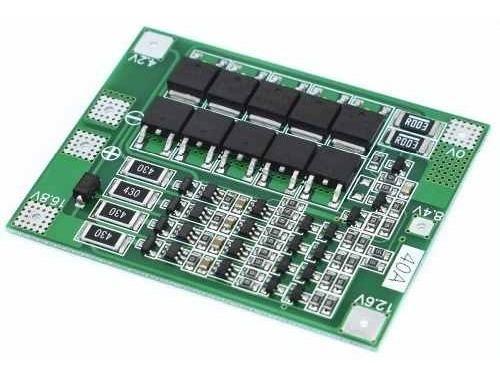 Placa Proteção Carga Bateria Lítio 18650 4s 40a Bms