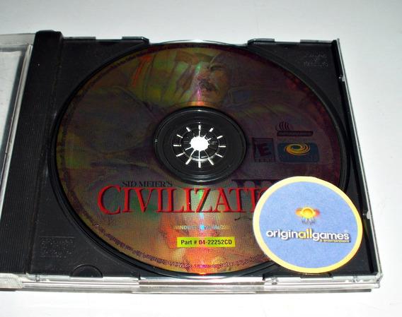 Civilization 3 ¦ Jogo Pc Original Usado ¦ Mídia Física