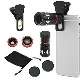Camera Clamp Lens Universal 4 In 1