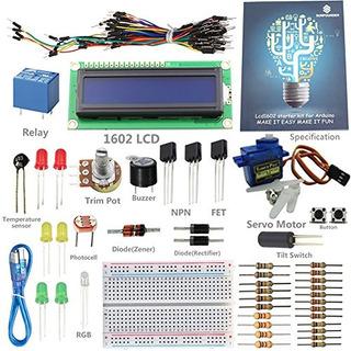 Sunfounder Project 1602 Lcd Starter Kit Para A