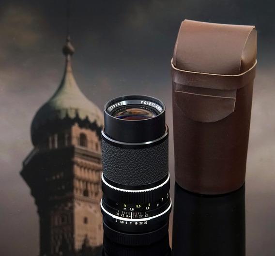 Lente Voigtlander Color Dynarex 135mm + Adaptador Sony E\nex