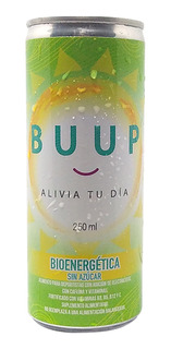 Pack 6 Energéticas Buup Anti Resaca
