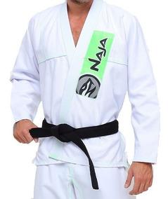 Kimono New Colors - Naja - Tam:a0 - Branco/verde