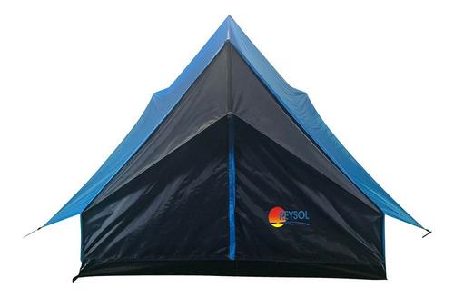 Imagen 1 de 3 de Carpas Camping Para 4 Personas Canadiense Doble Techo