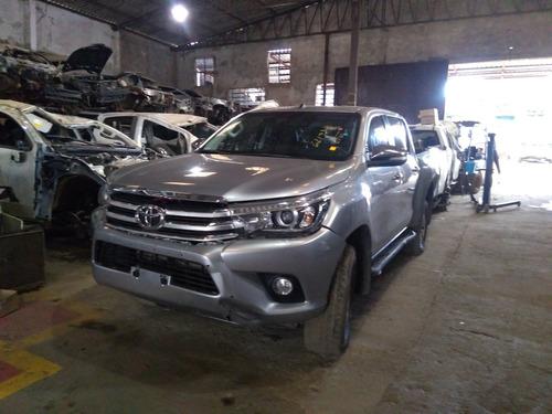 Imagem 1 de 9 de Sucata Toyota Hilux Srv 2.8 2016 Para Retirada De Peças