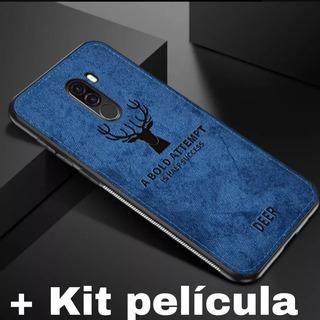 Capinha Case Capa Premium Pocophone F1 + Kit Com 2 Película