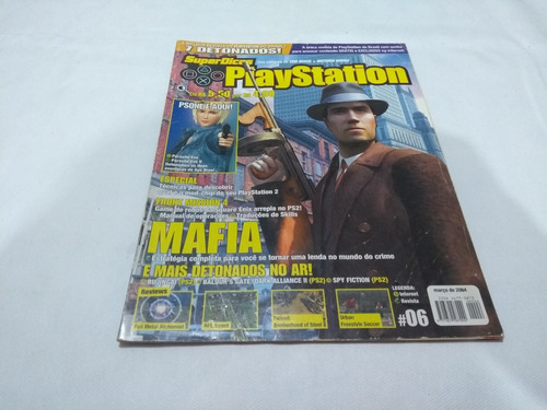 Revista Super Dicas Playstation Nº 6 Detonado Parasite Eve 2