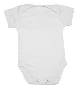 Body Bebê P/ Sublimação Poliéster C/ Elastano Estica Kit 24