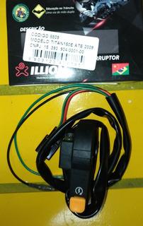 Interruptor Punho De Partida Moto Honda Titan 150 Es Até 09