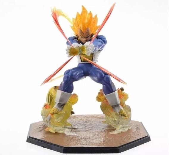 Dragon Ball Z Vegeta Super Sayajin 16cm Pronta Entrega
