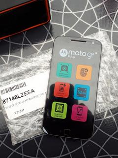 Motorola Moto G4 Plus Libre Nuevo Equipo Sólo Fotos Reales