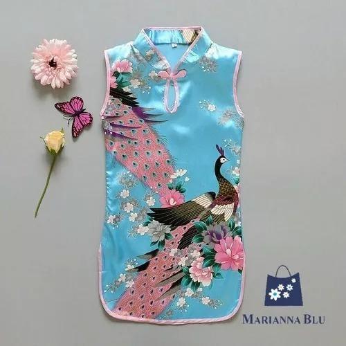 Kimonos Chinita Disfraz Tallas 3,4,7 Nuevos E Importados