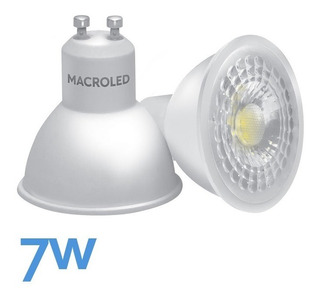 Dicroica Led 7w 490lm Macroled Equivale 50w