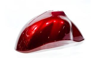 Guardabarro Interior Delantero Rojo Zanella Mod 150 Mt39075