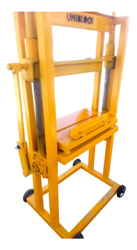 Imagen 1 de 12 de Máquina Tronzadora Para Fabricar Block Cara De Piedra
