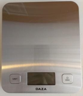 Balanza De Cocina Digital Acero Mide 1 Gr Precisión