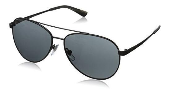 Dkny Womens 0dy5082 Gafas De Sol Aviador, Mate Negro, 59 Mm
