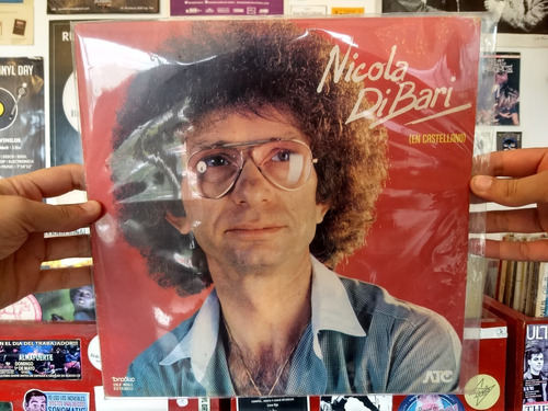 Nicola Di Bari Disco Vinilo Lp En Castellano Nm (9)