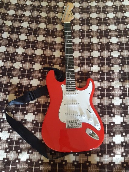 Guitarra Orich Con Amplificador