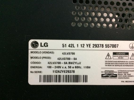 Tela Tv LG 42lv3700 42 Polegadas Não Compre Sem Ler Anuncio