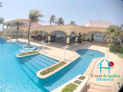 Cad Villa Universal. 200 M De Playa. Alberca, Palapa, Jardín