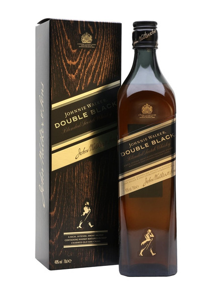 Whisky Johnnie Walker Double Black Label 750cc Con Estuche