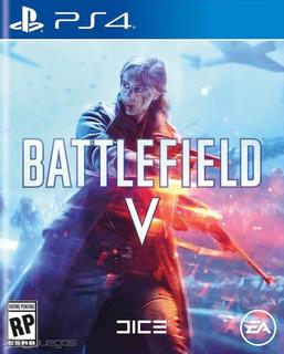 Battlefield 5 Ps4 Disco, Nuevo Y Sellado