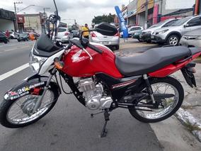 Honda Cg Fan 125i 2018 Vermelha 2900 Kms