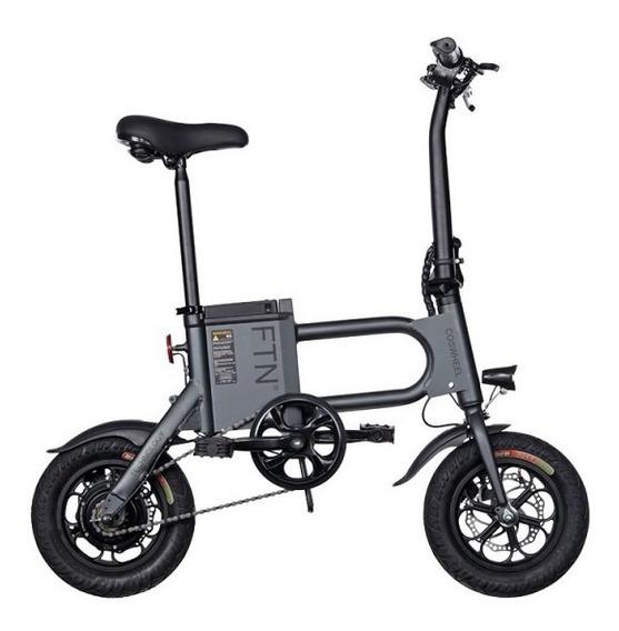 Bicicleta Eléctrica Coswheel - Ftn Pro Negra