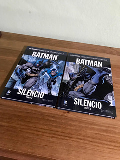 Hq Batman Silencio Partes 1 E 2 Eaglemoss