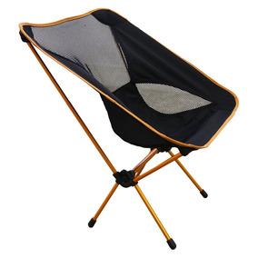 Cadeira Dobrável Camping Duralumínio Até 100 Kg Karibu Azteq