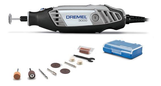 Minitorno Dremel 3000 130w + 10 Accesorios Mini Torno